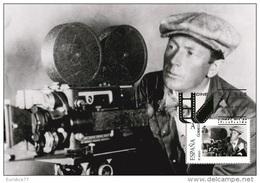 Spain 2015 - The World Of Cinema - F.W. Murnau (1888-1931) Maxicard - Cinéma