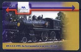 Steam Locomotive - Bulgarian Phonecard  New - Trains