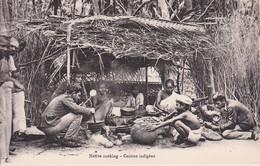 TRINCOMALIE  --  COOKING ___ CUISINE - Sri Lanka (Ceylon)