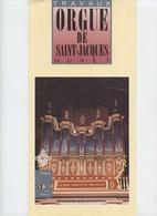 Muret, Restauration Orgue, église St Jacques, 1991, Plaquette 4 Pages - Musique & Instruments