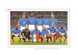 Stade De France - L'équipe De France De Football Avant Le Match France/Slovénie - Euro 2004 - Zidane - Saint Denis