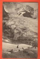VARR-23 Alpinistes Et Touristes Sur Un Glacier. Avec Luge à Touristes. Glacier D'Orny ? Sur Champex ?Non Circ. Musy 1705 - VS Valais