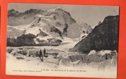 VARR-25 Breithorn Et Le Gacier De Gorner Gornergrat. Bergleute. Ob Zermatt. Nicht Gelaufen Jullien 1851 - VS Valais