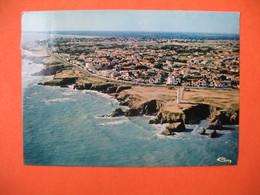 CPA  St-Hilaire De Riez - Sion - Sur L'Océan  1984  -  Le Nouveau Phare Et La Corniche - Saint Hilaire De Riez