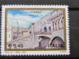 *ITALIA* USATI 2004 - 31^ TURISTICA VITERBO - SASSONE 2756 - LUSSO/FIOR DI STAMPA - 6. 1946-.. Repubblica