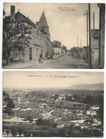 ARSONVAL ANiMé Poste 1934 Et Vue VIGNES En Champagne Près Bar Sur AUBE Vendeuvre Barse Brienne Le Château Troyes Seine - Bar-sur-Aube