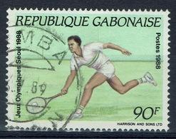 Gabon, Tennis, Summer Olympics, Seoul, South Korea, 1988, VFU - Gabon