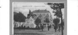 Chalon Sur Saône.Place De La République.Monument De La Défense. - Chalon Sur Saone