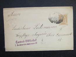 GANZSACHE Wien 1901 Zeitungsstreifband  ///  D*36246 - Briefe U. Dokumente