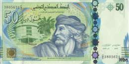 Tunisie 50 Dinars (P94) 2011 (Préf: G/3) -UNC- - Tunisie