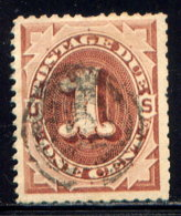 UNITED STATES, NO. J1 - Postage Due