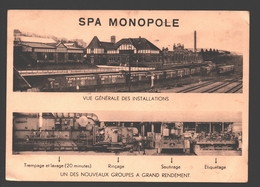 Spa - Spa Monopole - Vue Générale Des Installations - 1955 - Service Militaire - Spa