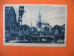 CPA   Exposition Coloniale Internationale Paris 1931 - Temple D'Angkor-Vat Et Le Palais Des Missions - Expositions