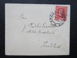 BRIEF Prcice Prcitz - Karlsbad 1916 ///  D*36257 - 1850-1918 Imperium