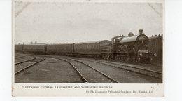 Les Locomotives (Royaume-Uni) FLEETWOOD EXPRESS LANCASHIRE AND YORKSHIRE RAIWAY - Trains
