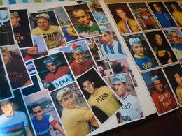 Lot De 35 Cartes Postales Vélo Chewing Gum  . Années 1970 . - Cyclisme
