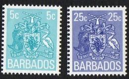 Barbados. 1975 Coil Definitives. MNH - Barbados (1966-...)