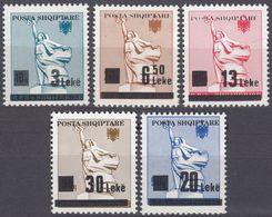 ALBANIA -  1993 - Serie Completa Composta Da 5 Valori Nuovi MNH: Yvert 2293/2297. - Albania