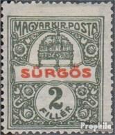 Hongrie 180 (complète.Edition.) Neuf Avec Gomme Originale 1916 Timbre Urgent - Nuovi