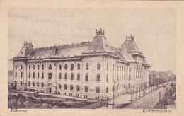 ROUMANIE . BUCAREST. BUKAREST. CPA. KOMMANDANTUR. ANNEE 1916 - Rumänien
