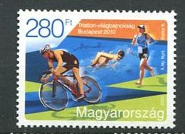 243 HONGRIE 2010 - Yvert 4414 - Cyclisme Velo - Neuf **(MNH) Sans Trace De Charniere - Hongrie