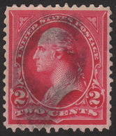 1897, US 2c, Used, George Washington, Sc 279Bc, Graded XF Superb 96 - Usati