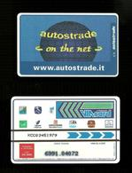 N. 247 Cat. Viacard - Autostrade On The Net Da Lire 50.000 Pkappa - Italië