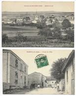 BAROVILLE VUE & ECOLE ANiMéE En Champagne Près Fontaine Bar Sur AUBE Vendeuvre Barse Brienne Le Château Troyes Seine ... - Bar-sur-Aube