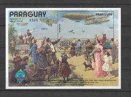 Paraguay   **  Block 394,  3616, 3618 Luftfahrt Katalog 30,00 - Paraguay