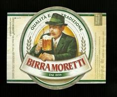 Etichetta - Birra Moretti - Birra