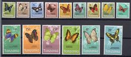 1973 - TANZANIA - Catg.. Yv. 33/47 - NH - (UP.207.20) - Tanzania (1964-...)
