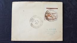 Enveloppe 1ere  Expo Internationale Poste Aérienne De Paris 1930 Avec Timbre Orphelins De Guerre 1927 - Marcophilie (Lettres)