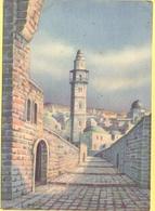 ISRAELE - ISRAEL - 1960 - Siracusana 15 - Gerusalemme - Nostra Signora Di Sion, Di Dandolo Bellini - Viaggiata Da - Israele