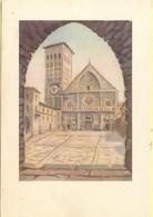 ITALIA - ITALY - ITALIE - Assisi - Basilica Di S. Rufino Dai Disegni Di  Dandolo Bellini - Not Used - Cartoline