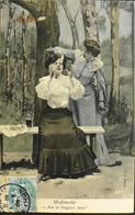 CPA -  Illustrateur > BERGERET - Midinette - Daté 1905 - TBE - Bergeret