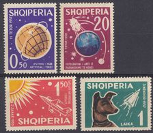 ALBANIA -  1962 - Serie Completa Di 4 Valori Nuovi MNH: Yvert 585/588. - Albania