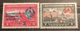 Yugoslavia ,1945, Mi: 451 I, 453 I (MNH) - Nuovi