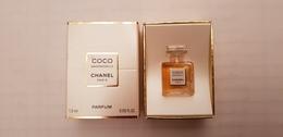 MINIATURE PARFUM  CHANEL  COCO MADEMOISELLE PARFUM 1,5ml  NEUF - Miniatures Modernes (à Partir De 1961)