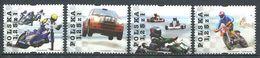 243 POLOGNE 2004 - Yvert 3900/03 - Sport Course Moto Kart Automobile - Neuf **(MNH) Sans Trace De Charniere - Nuovi