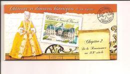 Carnet France  N° BC 726 ** Châteaux Et Demeures N° 2 - Usage Courant