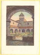ITALIA - ITALY - ITALIE - 1950  - Assisi - Chiostro Di San Damiano Di  Dandolo Bellini - Viaggiata Da Modena Per Viaregg - Cartoline