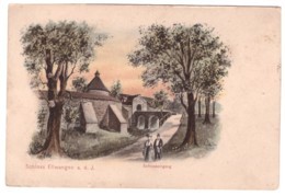 SCHLOSS ELLWANGEN - Schlosseingang (carte Animée) - Ellwangen