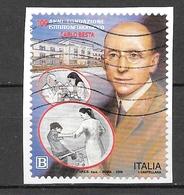 Italia 2018 100 Anni Fondazione Istituto Neurologico Carlo Besta. Valore Usato - 6. 1946-.. Repubblica