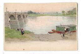 """H  Cassiers  -  """" Le Pont  à  Vichy """" - Pub. Biscuits  Et  Chocolats  Victoria -  Bruxelles  Et  Dordrecht - Illustrateurs & Photographes"""