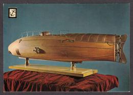 95948/ MARINE, Musée Maritime De Barcelone, Maquette Du Deuxième *Ictineo *, De Narciao Monturiol - Bateaux