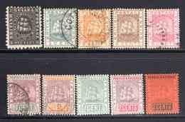 Guiana 1860/1938 50 Timbres Différents B/TB  25 € (cote 161,75 €) - Guyana Britannica (...-1966)