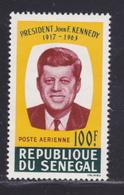 SENEGAL AERIENS N°   46 ** MNH Neuf Sans Charnière, TB (D8355) Kennedy - 1964 - Senegal (1960-...)
