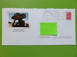 PAP - Entier Postal - Marianne Lamouche - Repiquage Ville De St Affrique - Dolmen - Aveyron (12) - 08.09.08 - Listos A Ser Enviados : Réplicas Privadas