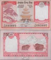 Nepal Pick-Nr: 60b, Signatur 19 Bankfrisch 2008 5 Rupees - Nepal