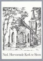 NL.- SLEEN. Ned. Herv. Kerk. Pentekening Van Victor Van Der Laan. - Schone Kunsten